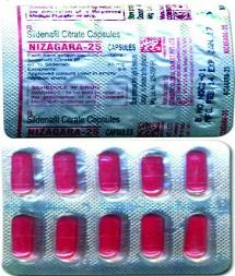 Nizagara 25mg: An Indian Generic Brand with Positive Reputation