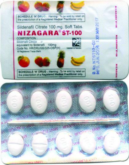 Nizagara ST-100: Combitic Global Sildenafil with Controversial Reviews